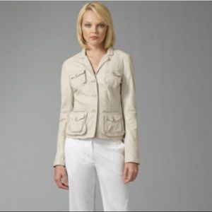 THEORY Irene cotton Safari inspired jacket